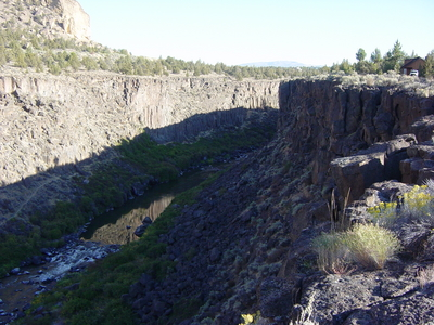 The Lower Gorge basalt of Smith Rock, Oregon
