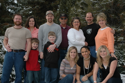 The Bliven Family Winter 2006