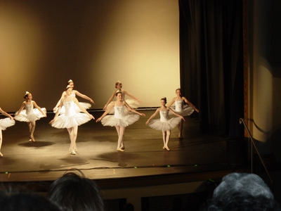 Haley O'Donnell at her 2004 Christmas Ballet Recital
