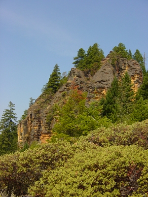 The north Honeycombs by Roseburg, Oregon - Climbing Oregon