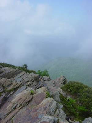 The summit of Mount LeConte - Hiking Tennessee - Smoky Mountain National Park