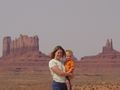 Linda and Tanis ODonnell in Navajo Nation, Arizona