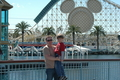 Jody and Tanis ODonnell standing on the Pier at California Adventure